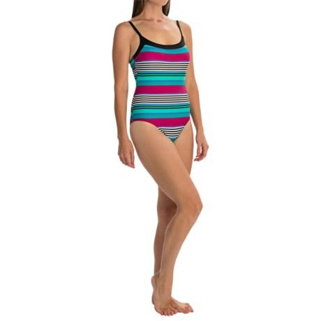 LEILANI Leilani Antibes Stripe Tank One-Piece Swimsuit (For Women)