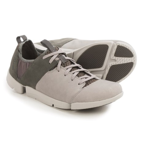 Clarks Tri Active Sneakers - Nubuck (For Women)