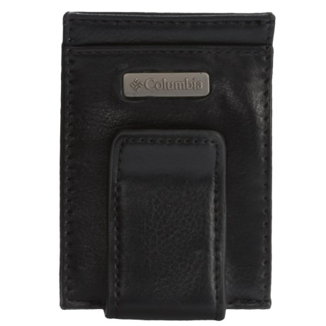 Columbia Sportswear RFID Front Pocket Wallet with Tension Clip - Leather (For Men)