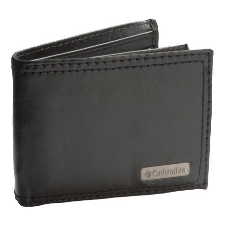 Columbia Sportswear RFID Extra-Capacity Slimfold Wallet - Leather (For Men)