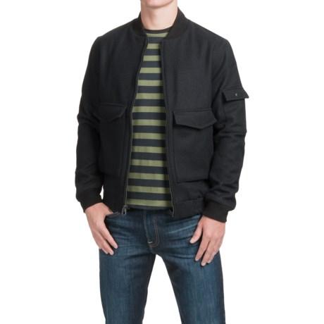 Woolrich Mill Wool Aviator Jacket (For Men)