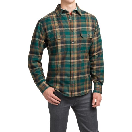 Woolrich Tall Pine Flannel Shirt Jacket - Lined (For Men)