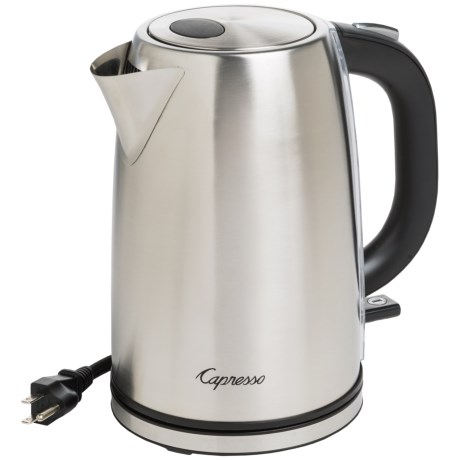 Capresso H2O Electric Water Kettle - 57 fl.oz., Stainless Steel