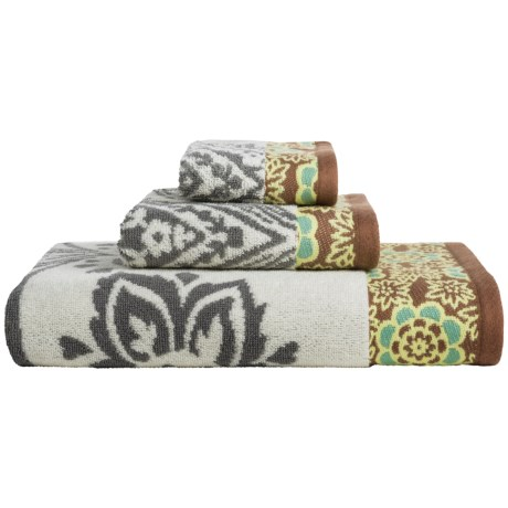 Welspun Amy Butler Cotton Bath Towel Set - 3-Piece