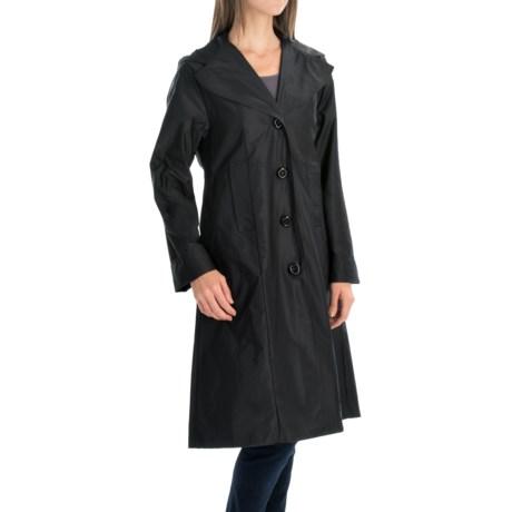 Janska Milano Packable Trench Coat (For Women)