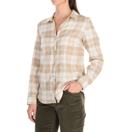 G.H. Bass & Co. Plaid Shirt - Cotton-Rayon, Long Sleeve (For Women)