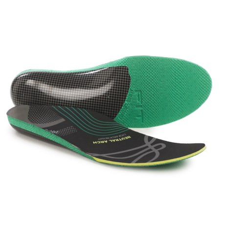 Jack Rabbit Neutral Arch Insoles - 3.0cm Arch Height (For Men and Women)