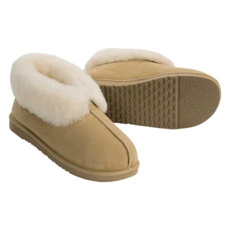 Acorn Ram Island Slippers - Sheepskin (For Men)
