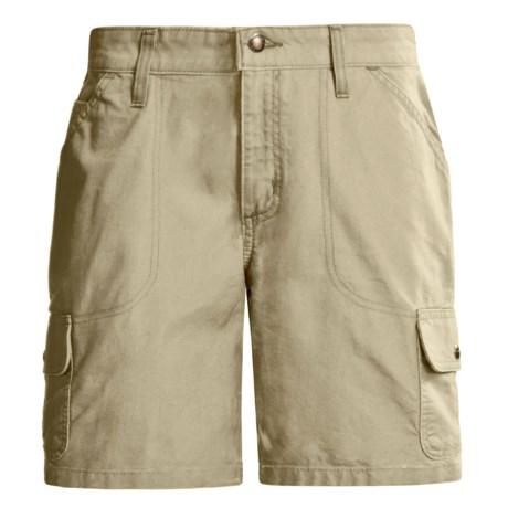 Carhartt Cargo Shorts - Canvas (For Women)