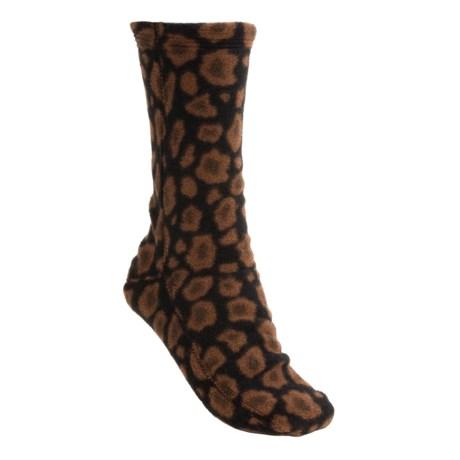 Acorn Versa Socks - Fleece (For Women)