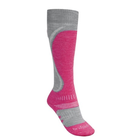 Bridgedale Heel Fit Ski Socks - Merino Wool, Midweight (For Women)