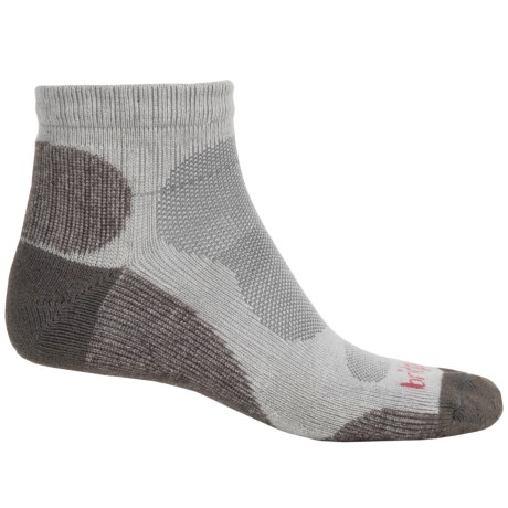 Bridgedale CoolMax® Lo Socks - Quarter Crew (For Men)