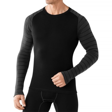 SmartWool NTS Mid 250 Pattern Base Layer Top - Merino Wool, Crew Neck, Long Sleeve (For Men)
