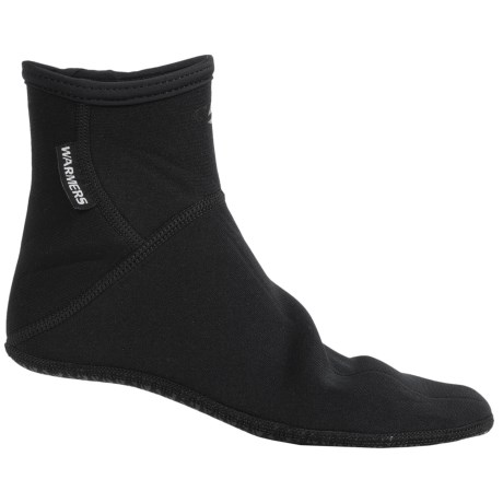 Stohlquist Warmers Neoprene Sandal Socks - Fleece-Lined, Ankle (For Men and Women)