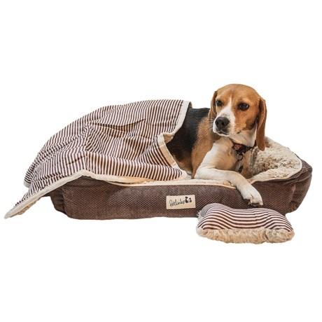 "Petlinks Sofa Salvation 3-Piece Dog Bed Set - 25x20"""