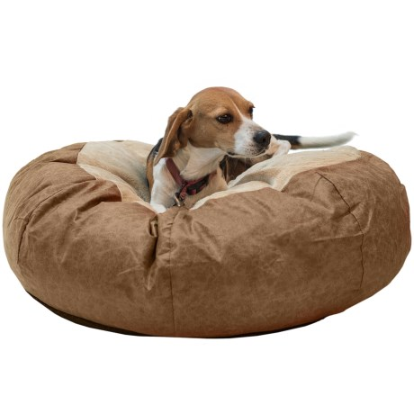 "K&H Pet Products K&H Pet Self-Warming Cuddle Ball Dog Bed - Small, 28"" Round"