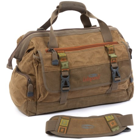 Fishpond Bighorn Kit Bag - Waxed Cotton