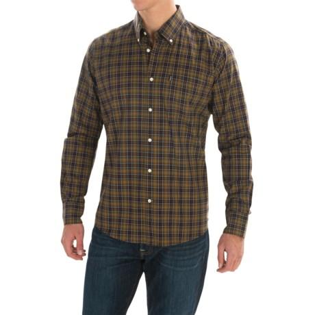 Barbour Malcolm Cotton Shirt - Long Sleeve (For Men)