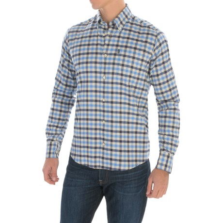 Barbour Moss Cotton Shirt - Long Sleeve (For Men)