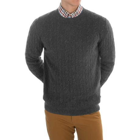 Barbour Essential Cable Sweater - Wool-Linen (For Men)