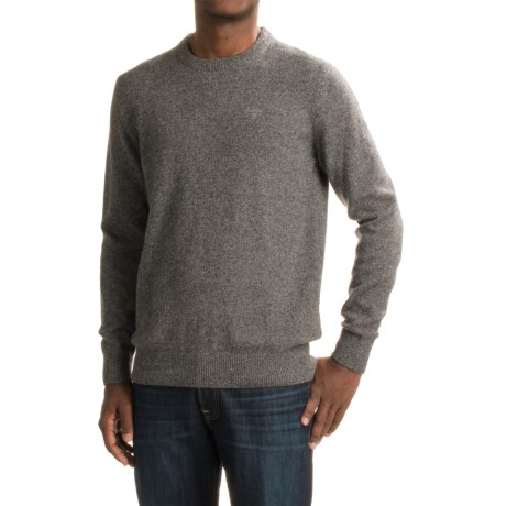 Barbour Lambswool Sweater - Crew Neck (For Men)