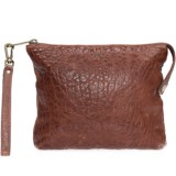 Will Leather Goods Opal Zip Pouch - Leather (For Women)