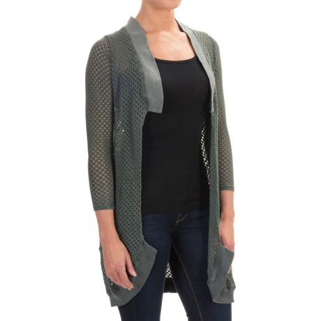 XCVI Park City Colossal Cardigan Sweater - Open Front (For Women)