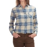 Barbour Check Plaid Shirt - Long Sleeve (For Women)