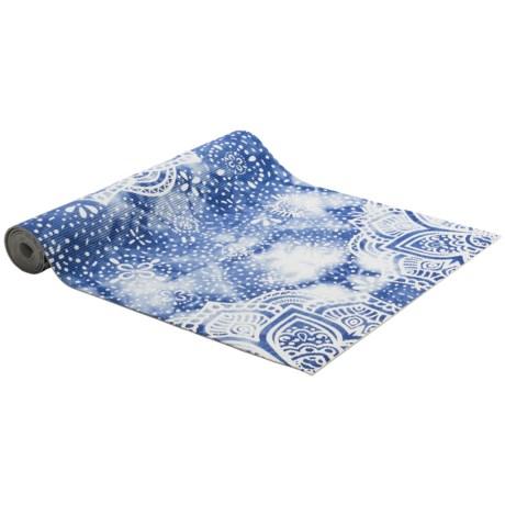 Flo Tie-Dye Mandala Yoga Mat - 4mm