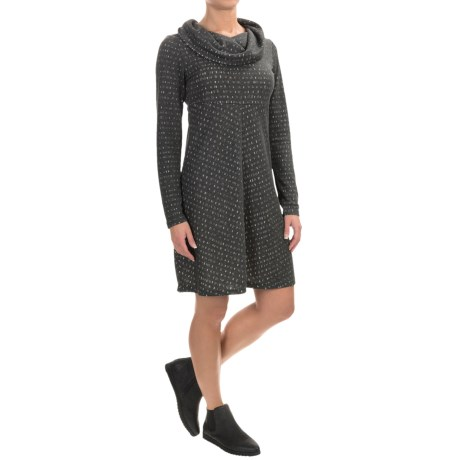 Aventura Clothing Amaris Cowl Neck Dress - Long Sleeve (For Women)