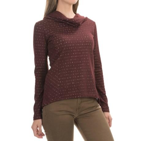 Aventura Clothing Amaris  Shirt - Cowl Neck, Long Sleeve (For Women)