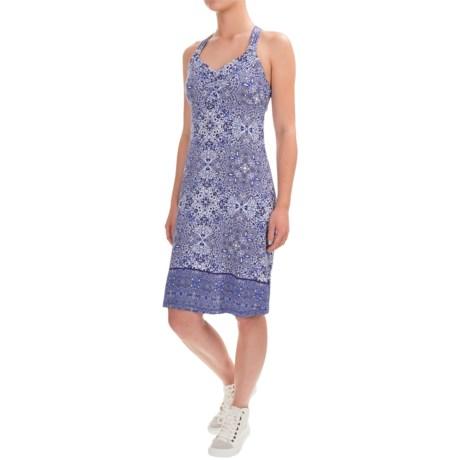 Dakini Medallion-Print Dress - Built-In Bra, Sleeveless (For Women)