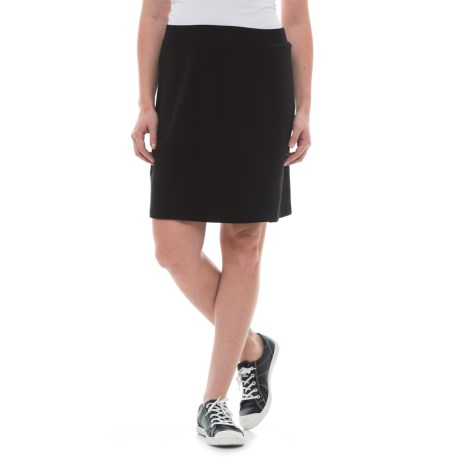Dakini French Terry Seamed Skirt (For Women)