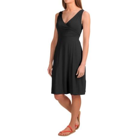 Dakini Faux-Wrap Modal Dress - Sleeveless (For Women)