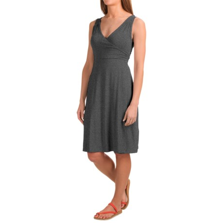 Dakini Faux-Wrap Modal Dress - Sleeveless (For Women)