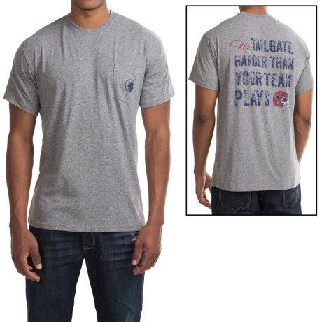 Southern Proper We Tailgate Harder T-Shirt - Short Sleeve (For Men)