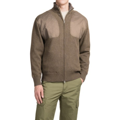 Southern Proper Madison Shooting Sweater - Full Zip (For Men)