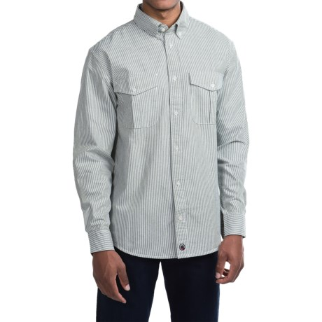 Southern Proper Ticking Stripe Shirt - Long Sleeve (For Men)