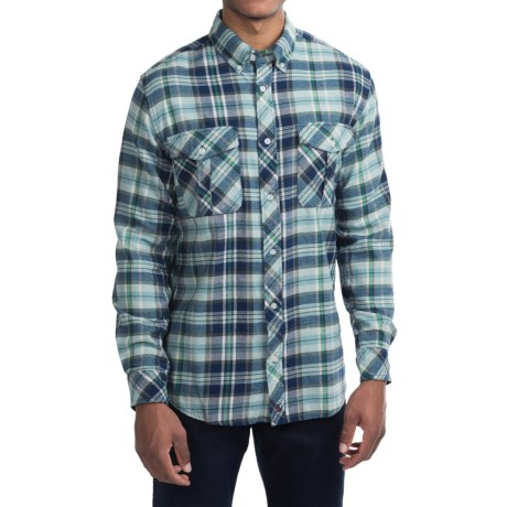Southern Proper Field Flannel Shirt - Long Sleeve (For Men)