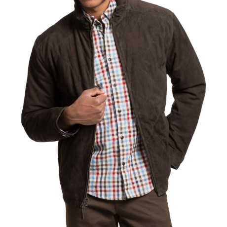 Golden Bear Rockridge Jacket - Goat Suede (For Men)