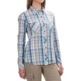Gramicci Zuma Plaid Convertible Shirt - Long Sleeve (For Women)