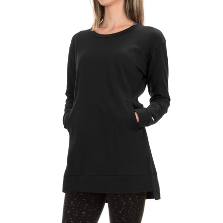 Satva Demira Tunic Dress - Organic Cotton-Modal, Long Sleeve (For Women)