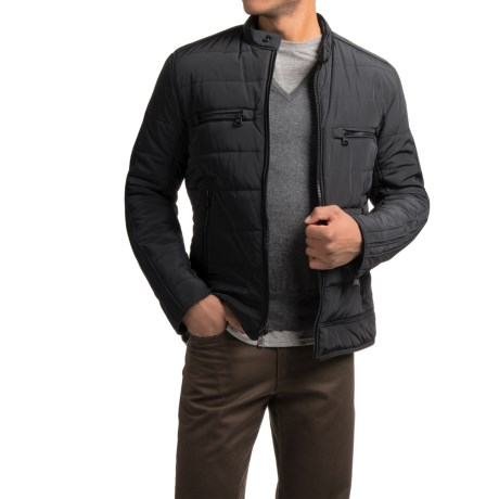 Marc New York by Andrew Marc Baxter Moto Jacket - Insulated (For Men)