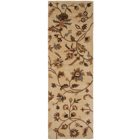 """Rizzy Home Destiny Floor Runner - 2'6""""x8', Hand-Tufted Wool"""