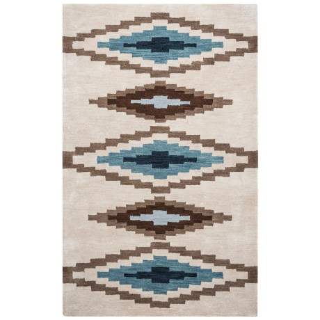 Rizzy Home Tumbleweed Area Rug - 5x8', Hand-Tufted Wool
