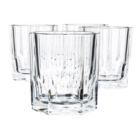 Nachtmann Bavarian Crystal Whisky Tumblers - Set of 4