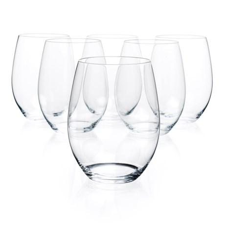 Riedel O Cabernet/Merlot Anniversary Wine Tumblers - Crystal, Set of 6