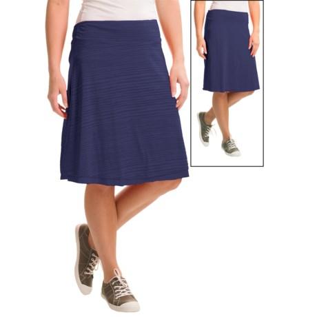 Dakini Burnout Reversible Knit Skirt (For Women)