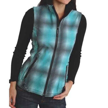 Roper Optical Printed Vest - Full Zip (For Women)