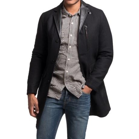 Barbour Riggyari Wool Coat - Insulated (For Men)
